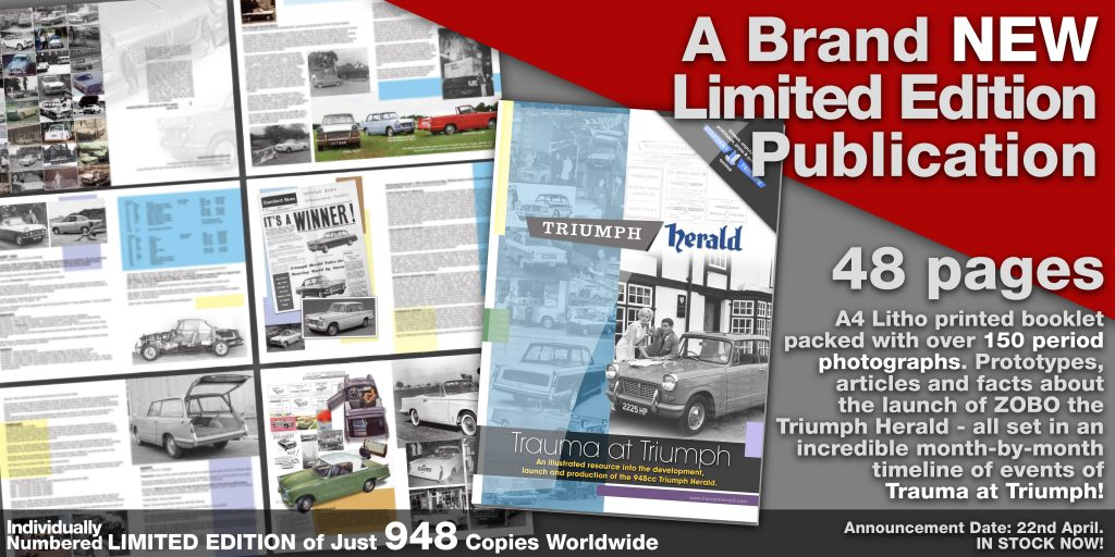 New Triumph Herald Book